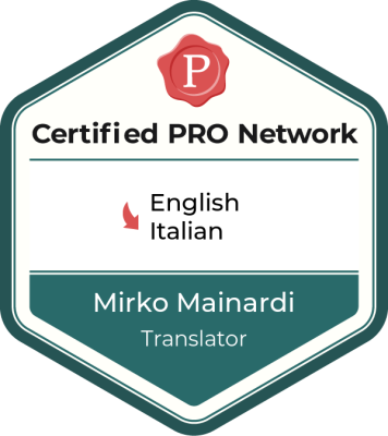 ProZ 'Certified PRO'