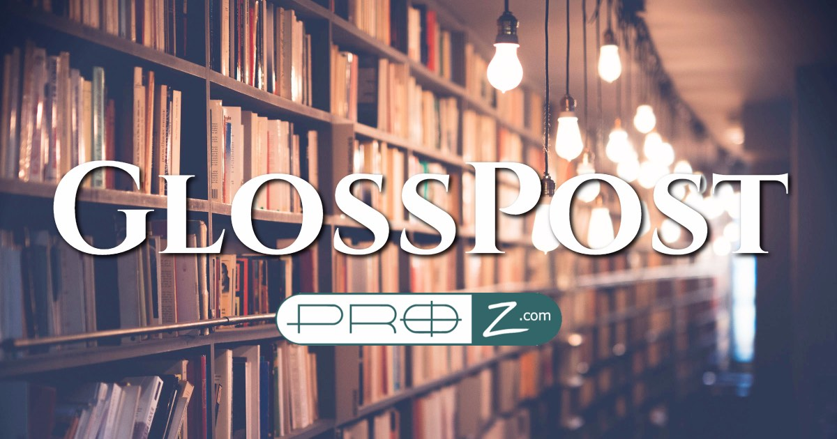 glosspost database of over 5000 links to glossaries