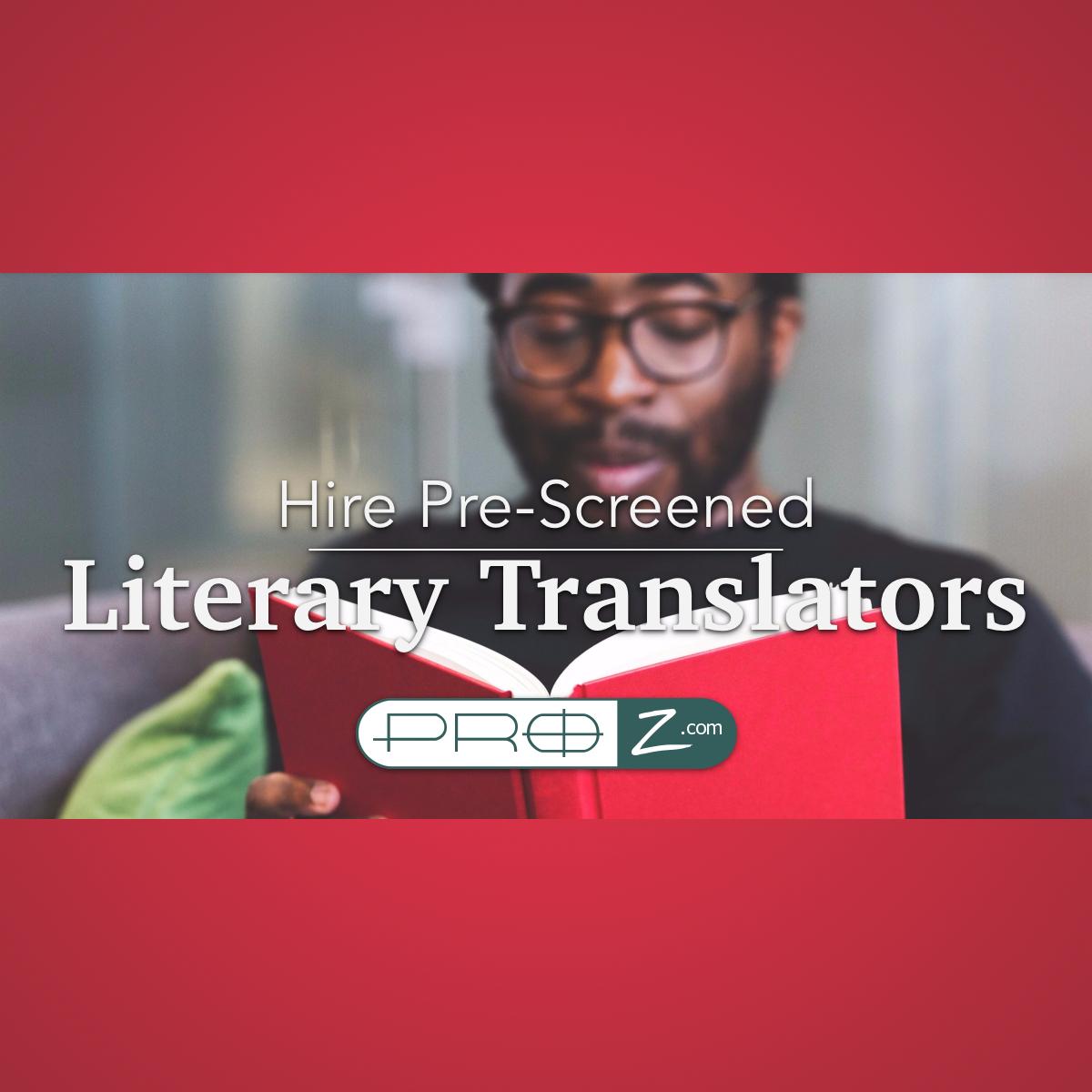 literary translator pool
