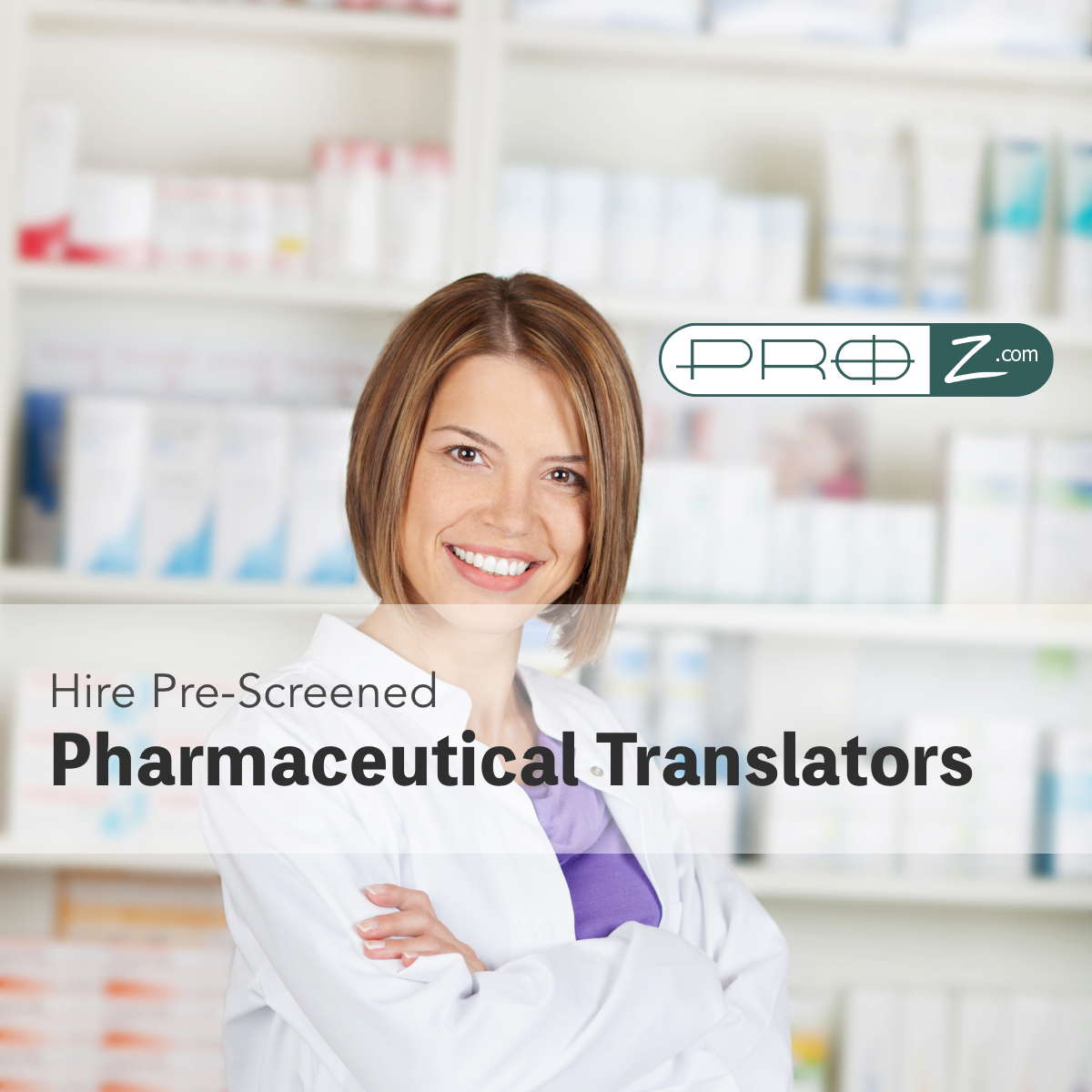 pharmaceutical translator pool